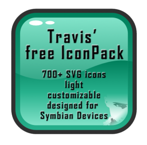 Travis Free Icon pack