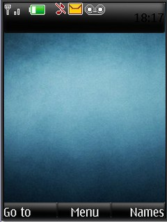 Blue Texture S40v3 Theme by shadow_20