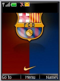 Barcelona s40v3 theme by shadow_20