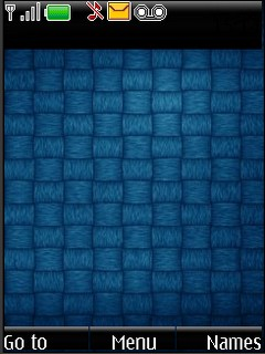 Interlace blue