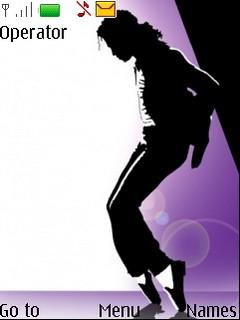 Michael Jackson shadow