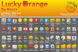 Lucky Orange Icons By Moncc