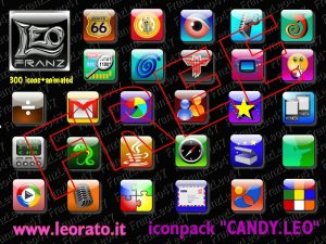 Candy Leo Svg Icon Pack By Franzleo47