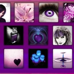 Purple Wallpaper by Dave