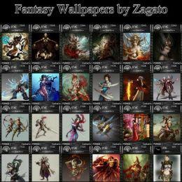 Fantasy Wallpaper 240×235 by Zagato