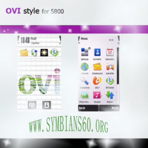 OviStyle for nokia 5800