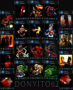 Superheroes transparent wallpaper donvito62