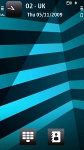 XpressMusic Blue Stripes