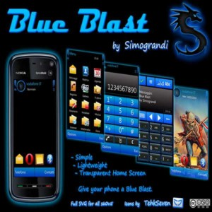 Blue Blast by Simograndi