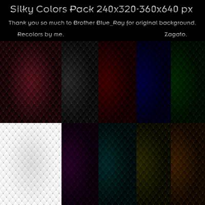 Silky colour pack wallpaper by Zagato