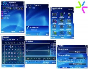 Omnia icon theme BLUE BY DanGerTerY
