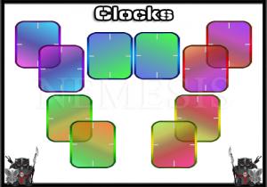 Transparent clocks for carbide