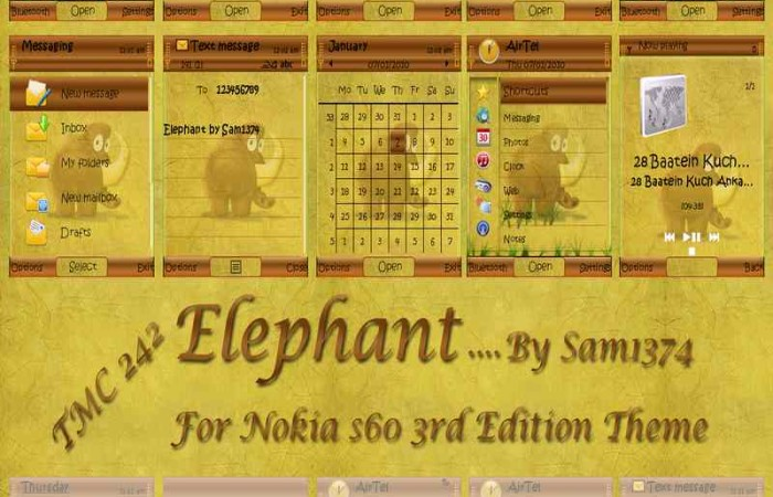 Elephant by sam