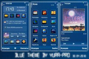 Blue theme by yura pro