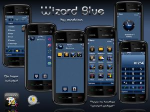 wizard blue