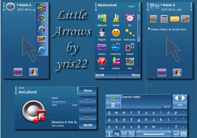 arrow cupid symbian theme