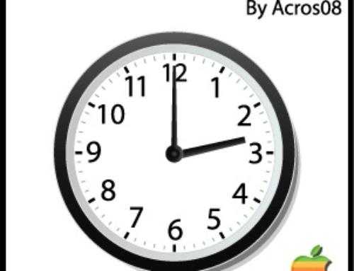 Apple World Clock by Acros08