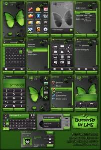 Butterfly Nokia theme