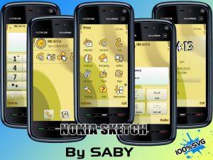 Nokia theme sketch