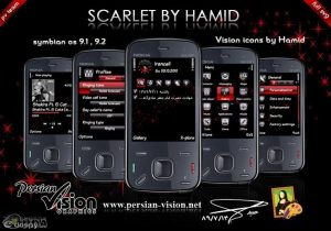 scarlet theme