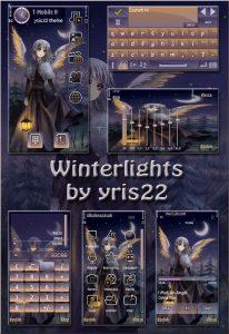 winter light theme