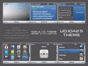 iPhone themes by Udjo42