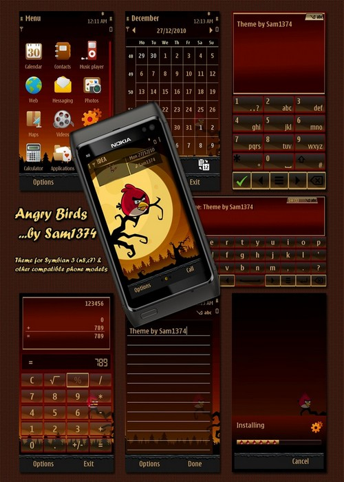 angry birds symbian 3 game