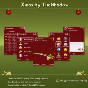 xmas christmas theme by theshadow