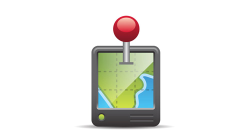 stylized gps icon tutorial