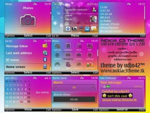 colorfull theme for s40v6 phones