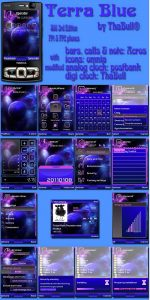 terra blue theme
