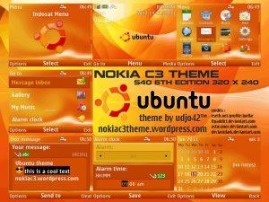 ubuntu nokia theme