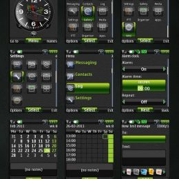 blakberry mobile themes world