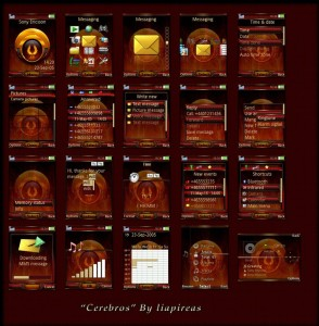 cerebros sony ericsson themes by lia
