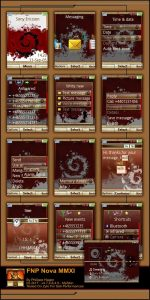 sony ericsson mobile themes fnp nova mmxI