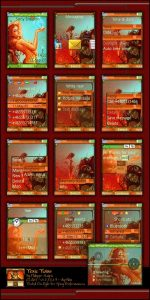 sony ericsson 240 x 320 px themes toxic wins