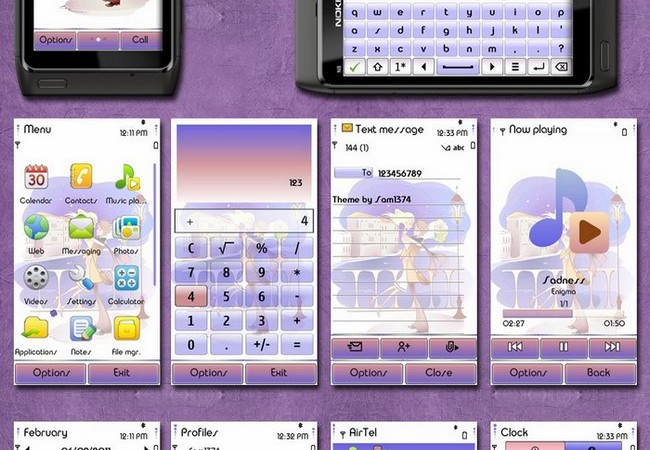 valentines day theme for nokia n8
