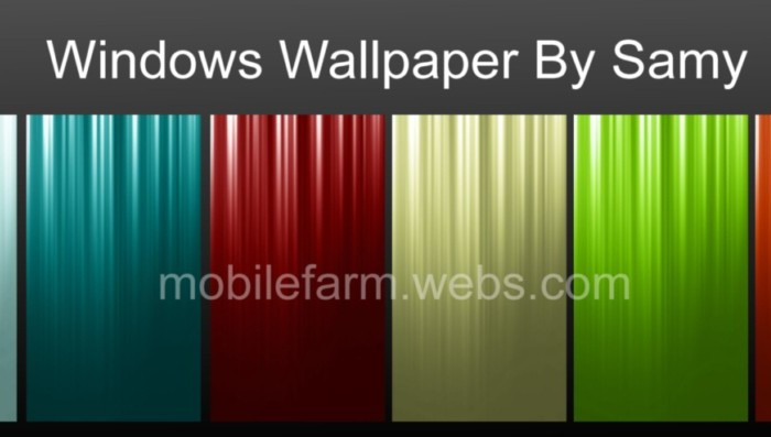 windows mobile wallpapers for cell phone