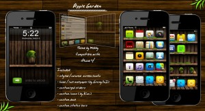apple iphone theme garden by webby