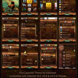 sony ericsson theme by malytopol flux capacitor