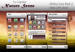 s60v5 theme nature scene by cupcake