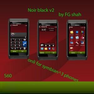 symbian3mobile theme noir black by fgshah