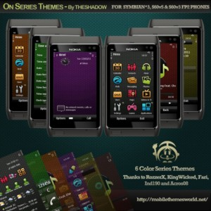 6 color on series mobile themes by theshadow