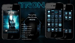 tron movie themes for mobile iphone by webby