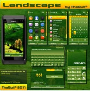 Landscape theme for nokia s3 mobiles