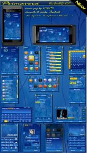 primavera mobile theme for S3 cell phones