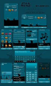starwars mobile themes by sam for s3 cell phone