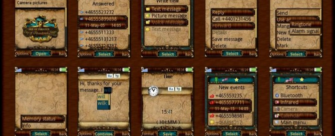 Sony ericsson age of pirates 2 theme