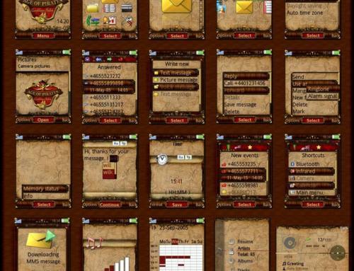Age of Pirates Sony Ericsson Theme by Liapireas