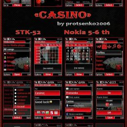 online mobile casino theme for s40v5 and s40v6 phones